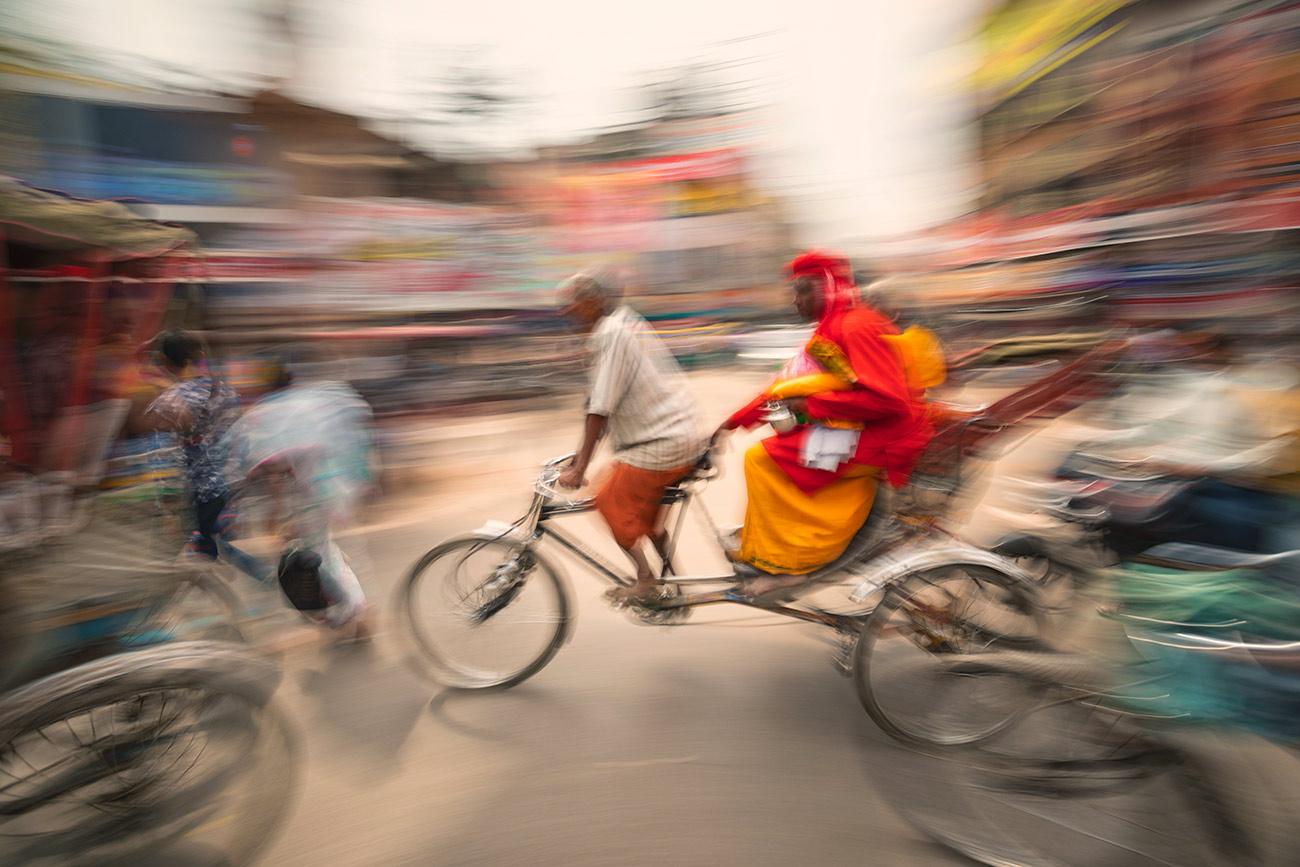 Craziness non-stop in Varinasi, India