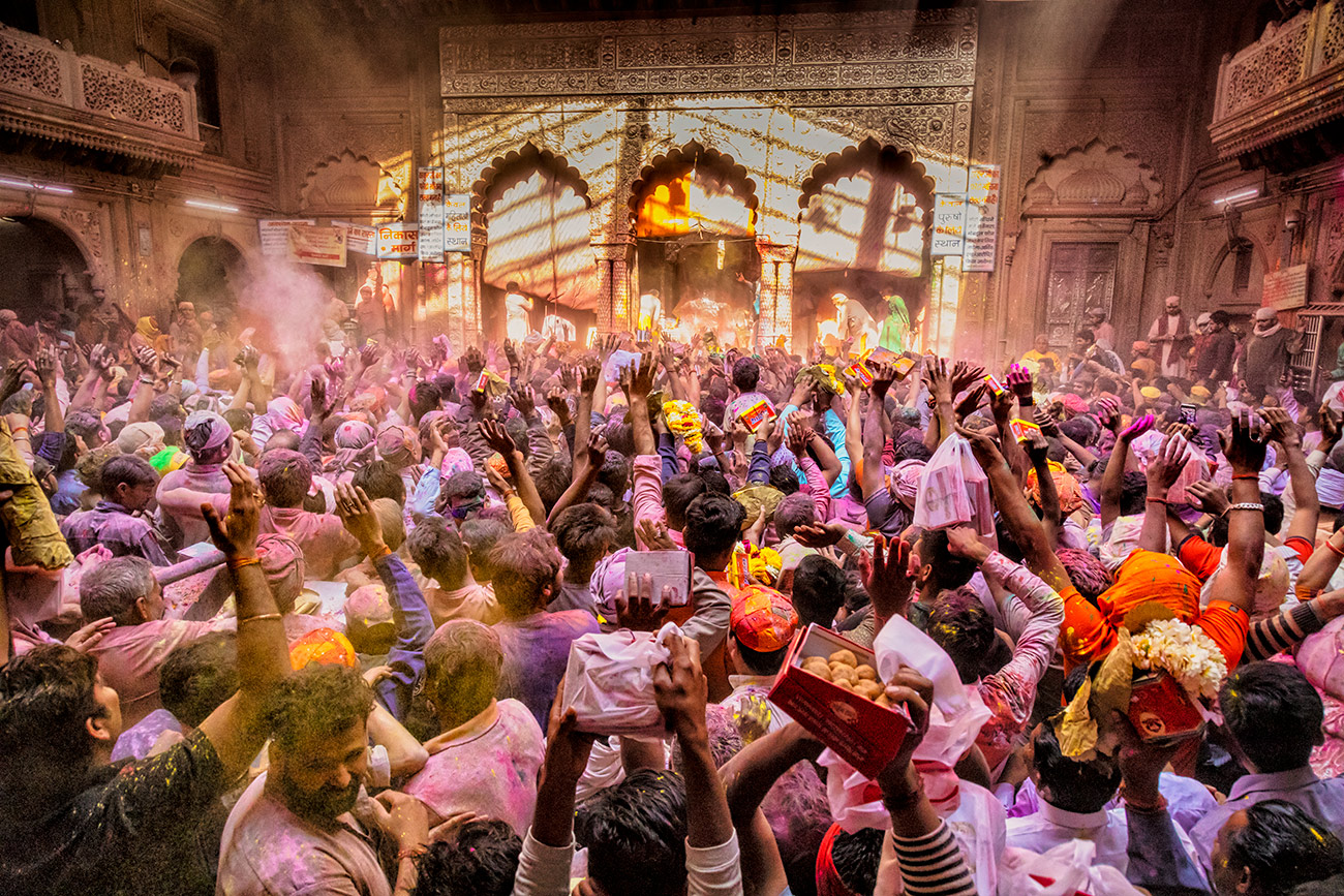 The amazing and colorful Holi Festival in India
