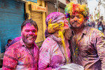 My wife Holly at Holi