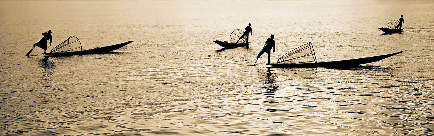 the amazing Inle Lake fisherman, Burma