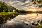St. Finbarr's Church & Gougane Barra Lake in Cork