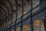 The one of a kind Trinity Library in Dublin