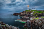 Fanad Lighthouse on the coast