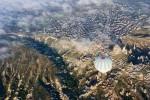 Balloons over Kapadocchia, Turkey