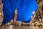 San Marco Plaza at dusk