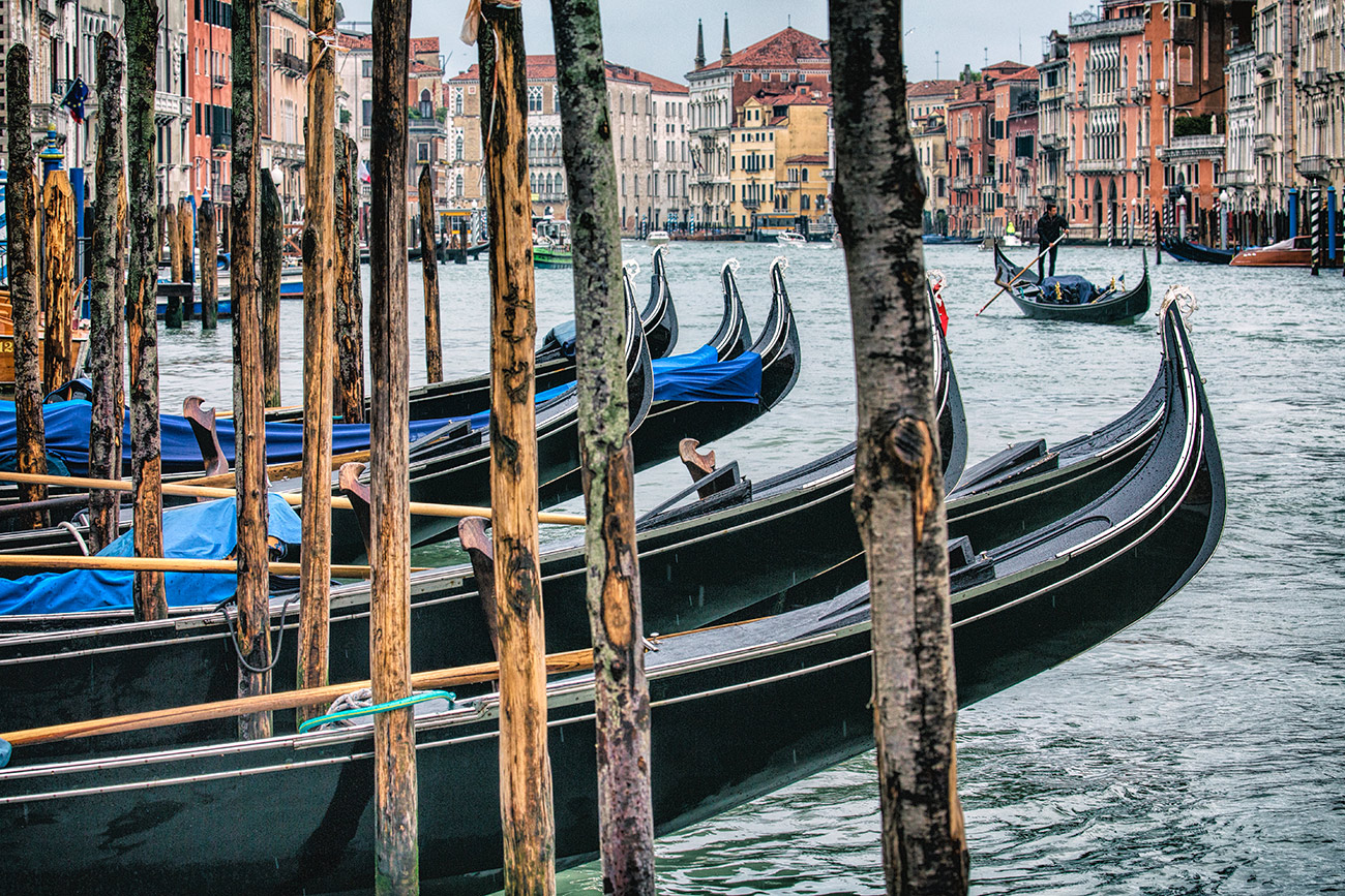 Gondolas of Venice
