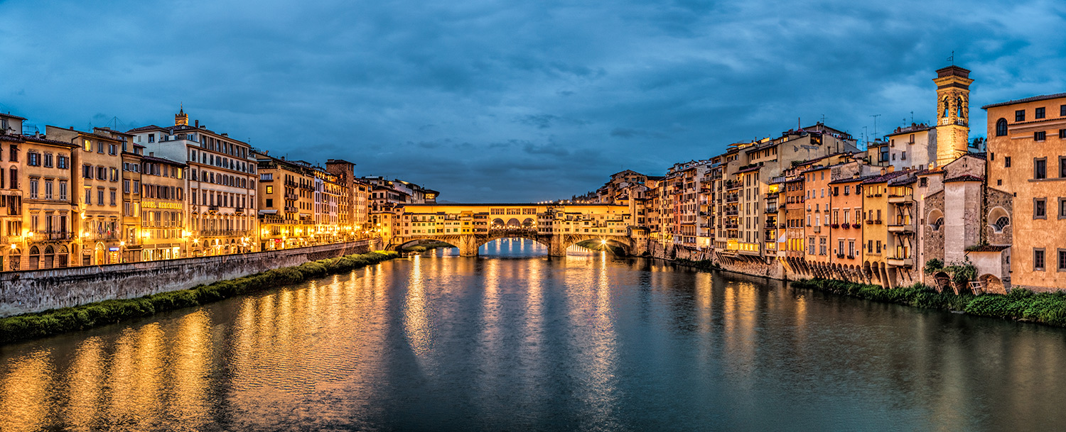 The Pontevechio Bridge in Florence