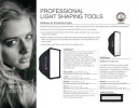 Leah n the Photoflex lighting catalog