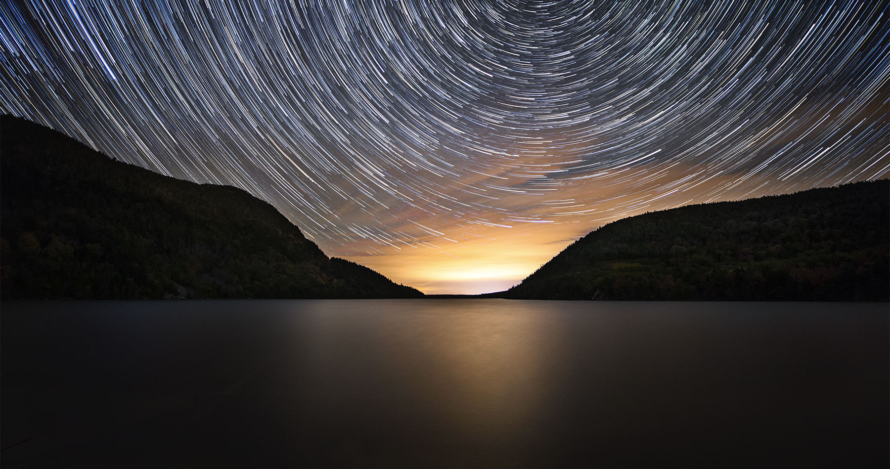 long_pond_star_trails_acadia_cool