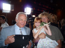 Hanging with Natalie and my hero Buzz Aldrin
