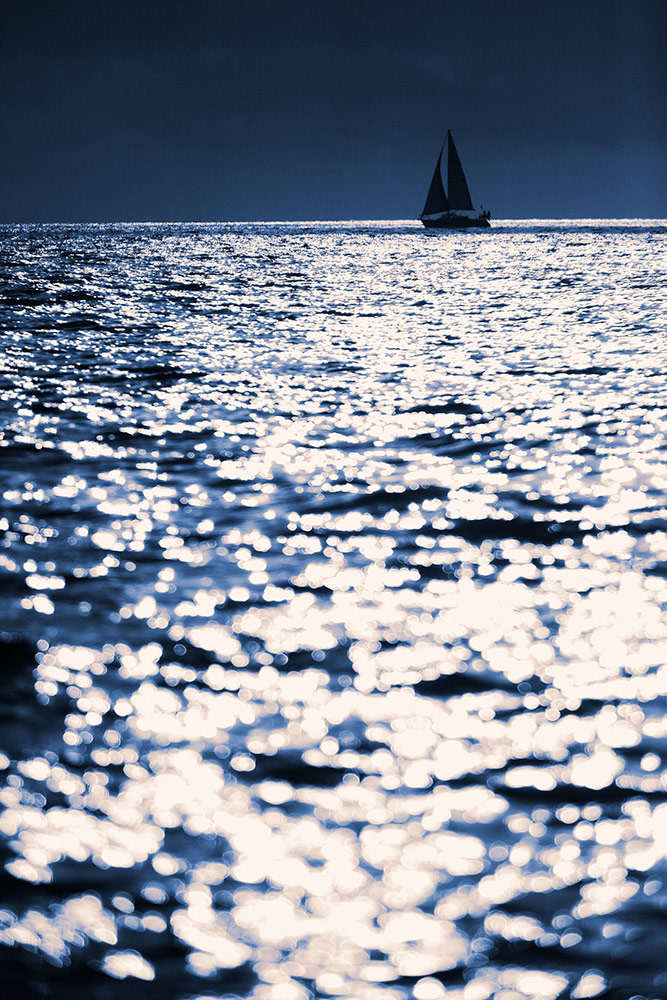 Sailing in Marina Del Ray
