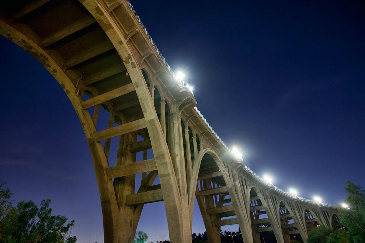Suicide Bridge in Pasadena