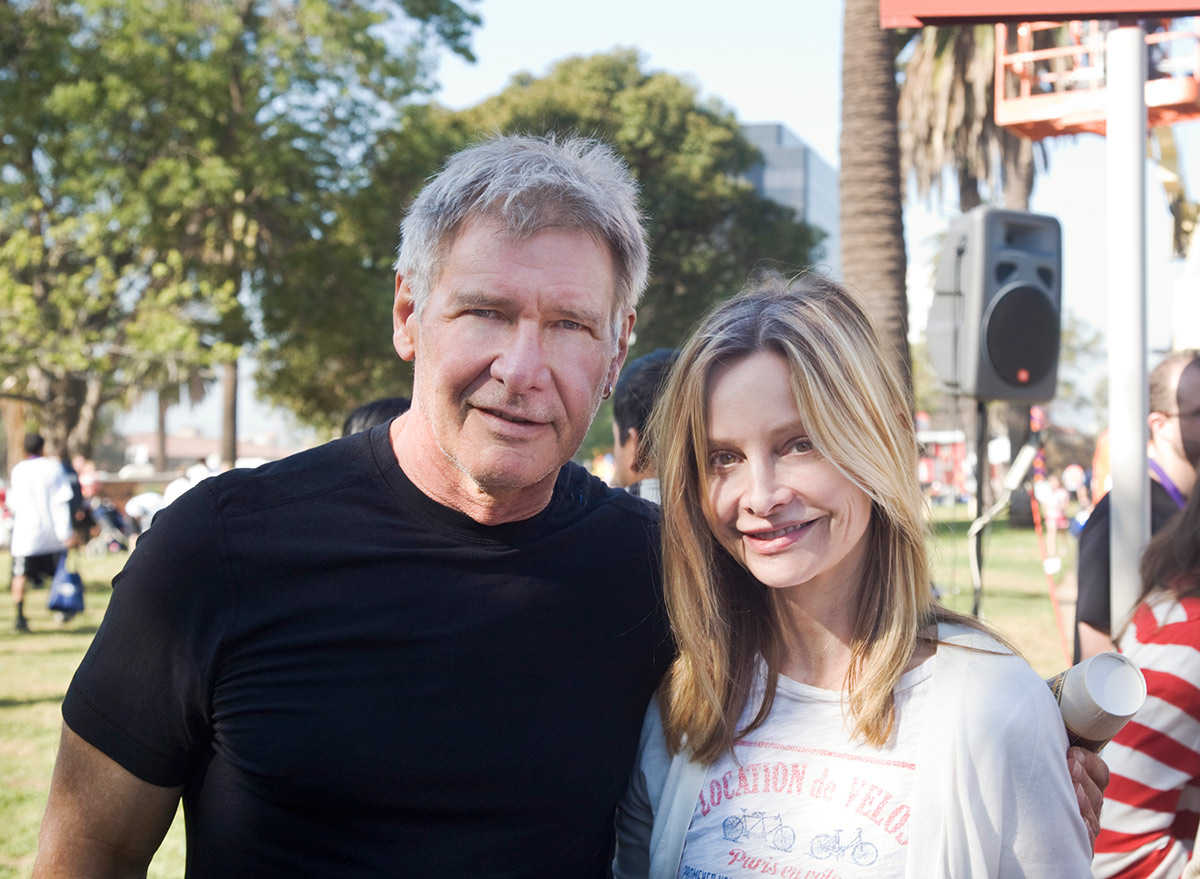 Harrison Ford and Callista Flockhart