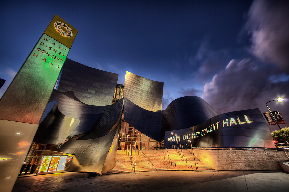 The Disney Concert Hall