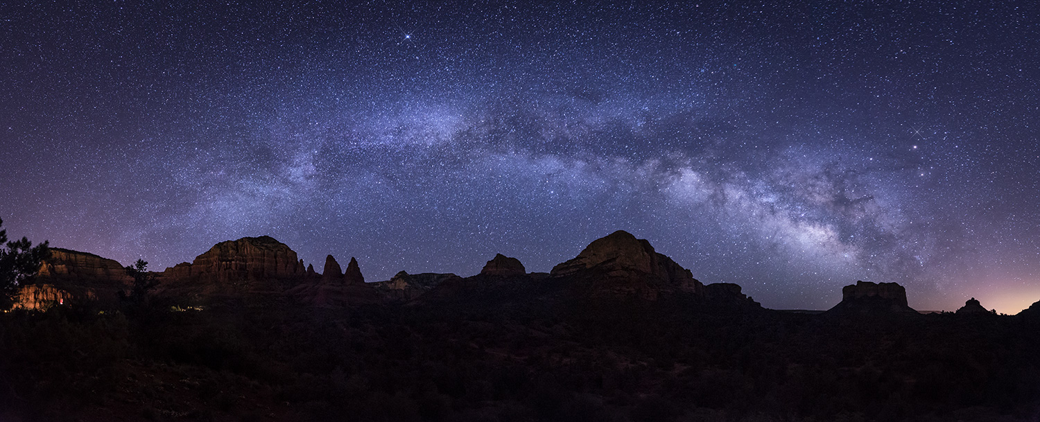 Milky Way from the Chapel to Bell Rock