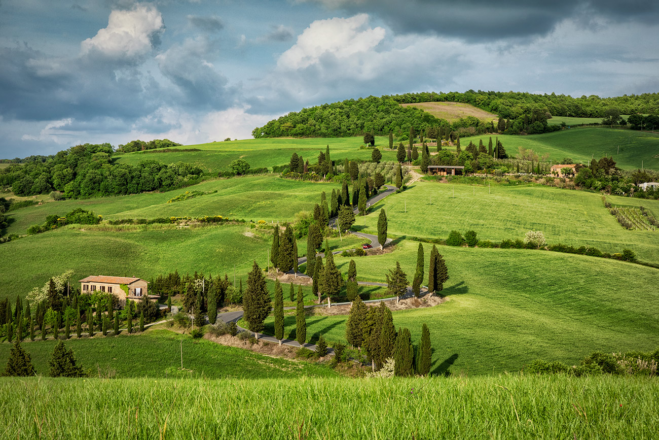 Monticiello in Tuscany