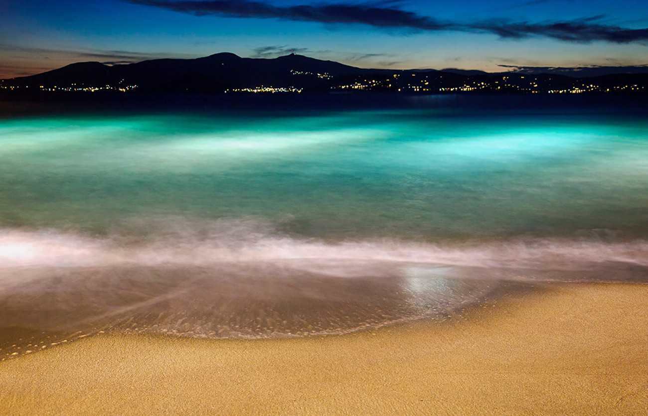The beautiful water of Naxos, Greece