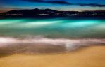 The beautiful water of Naxos, Greece