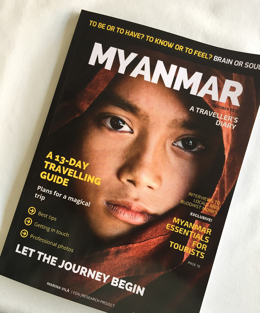 Cover of Myanmar Magazine