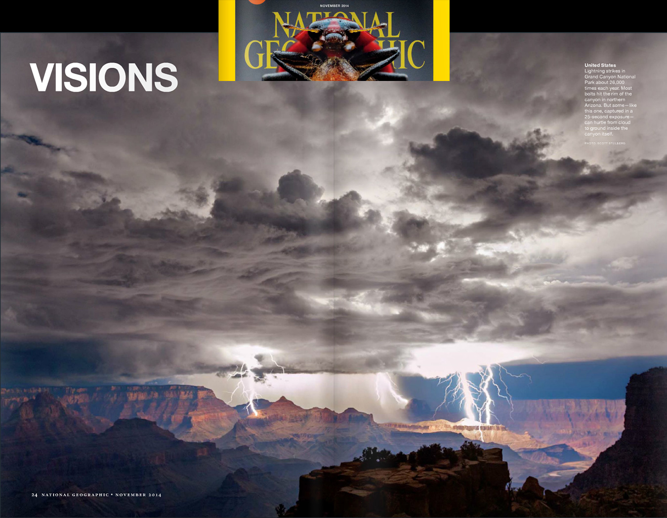 Visions of Earth ~ National Geographic Nov 2014