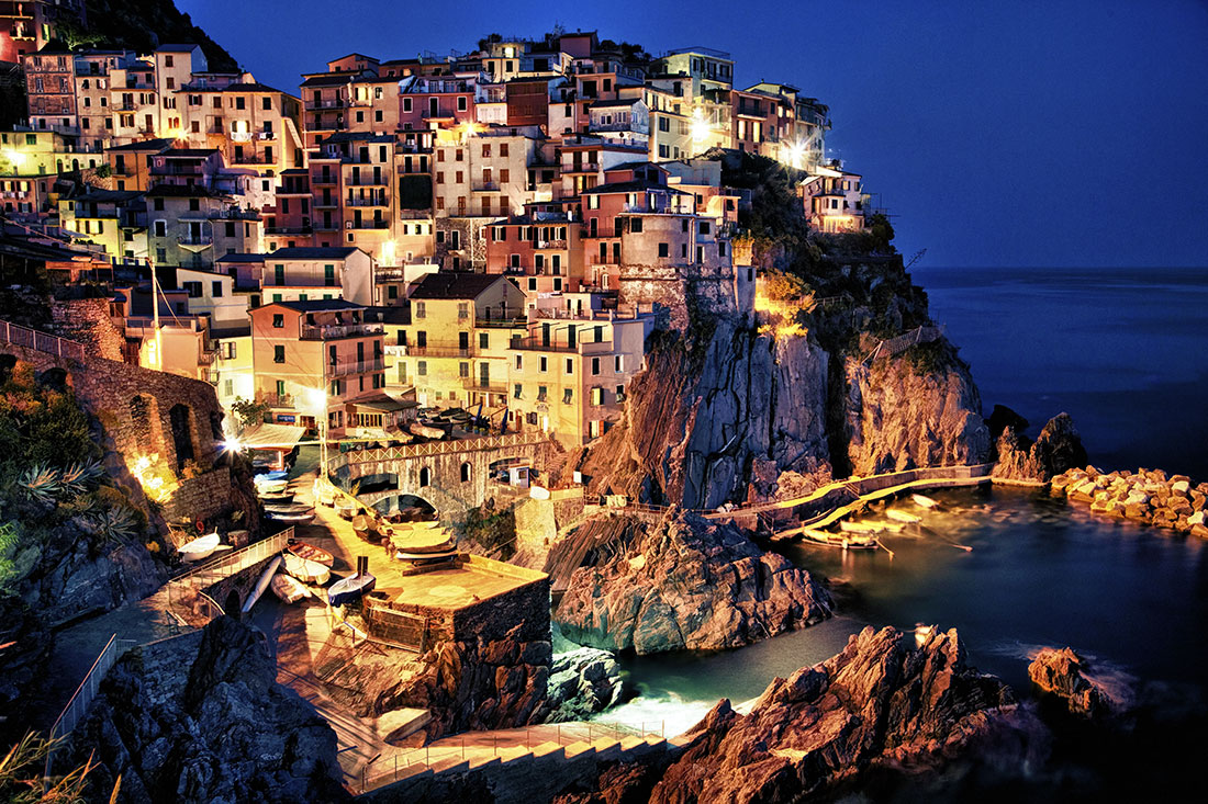 Manerola in the Cinque Terre, Italy