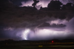 Lightning at the Sedona Airport
