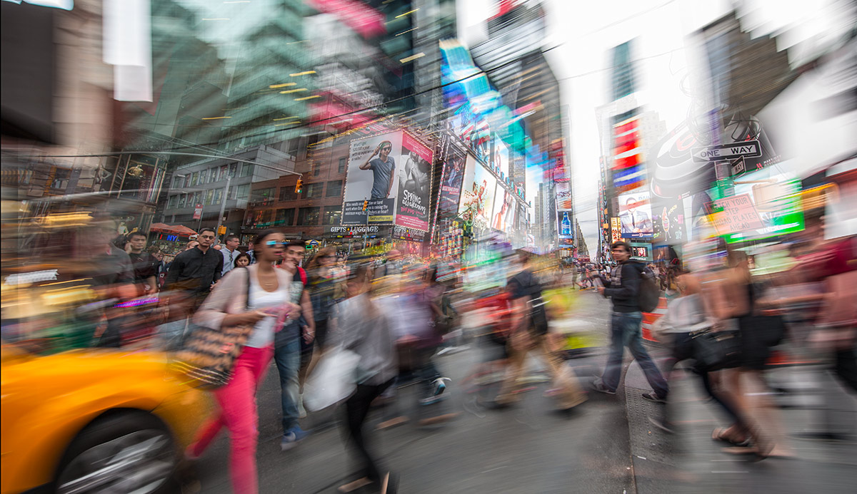 The madness of Times Square