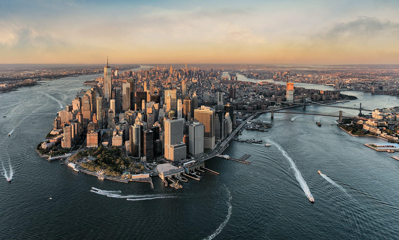 Amazing New York City from above