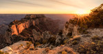 north_rim_grand_canyon_sunset