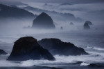 Foggy times in Cannon Beach, Oregon Coast