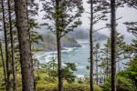 The view by Heceta Lighthouse in Yachats, Oregon