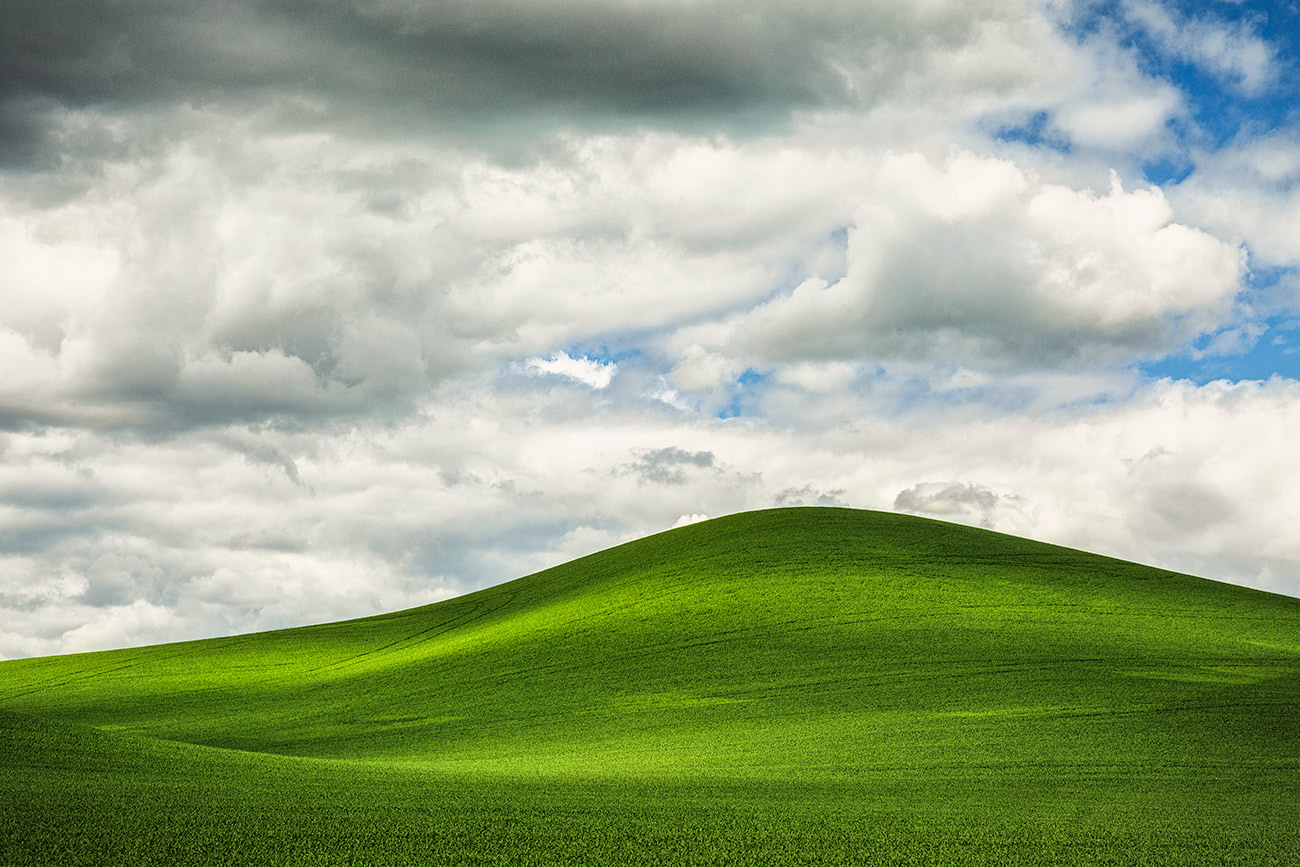 One of my favorite hills in the Palouse