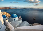 The Blue Domed Churches of Santorini