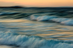 The beautiful waves of Naxos, Greece