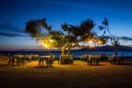 Beachside cafe in Naxos, Greece
