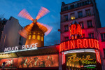 Moulin Rouge after dark