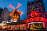 Moulin Rouge after dark