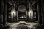 The Louvre after dark, Paris