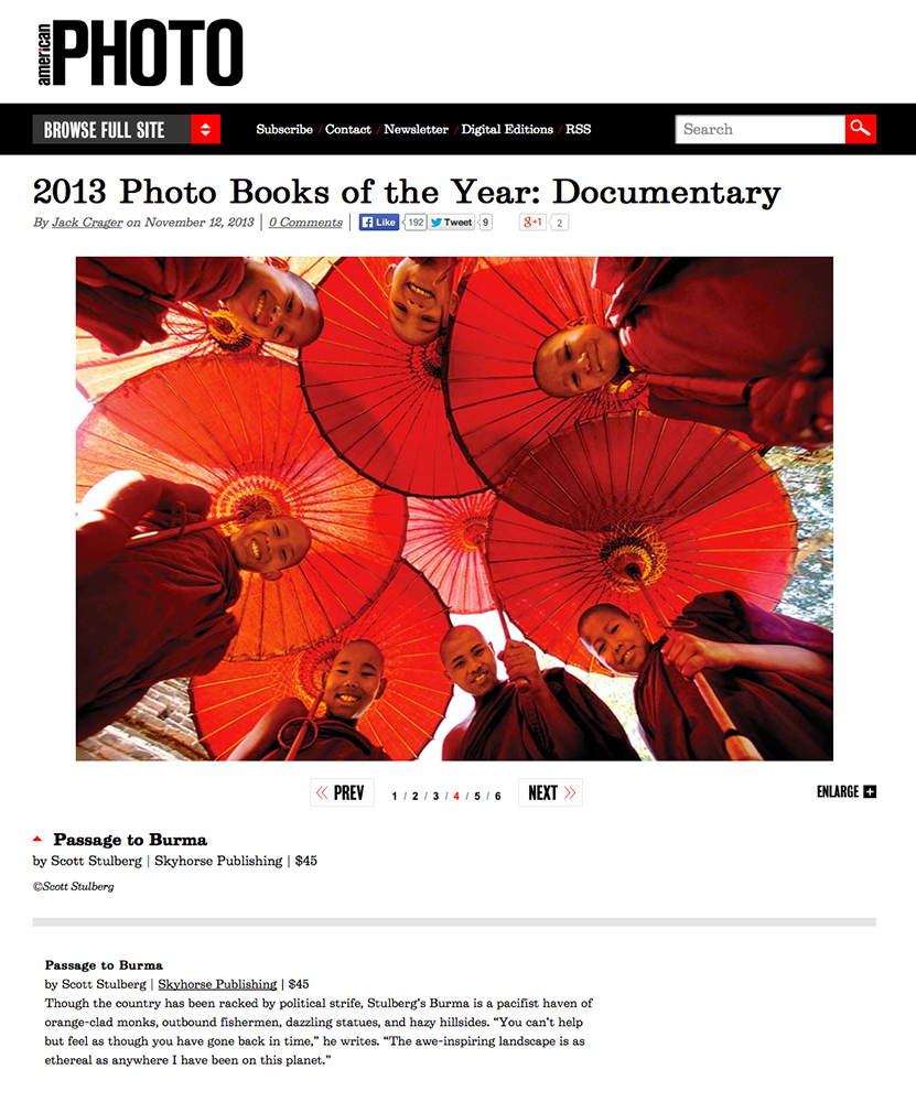 American Photo books of the year