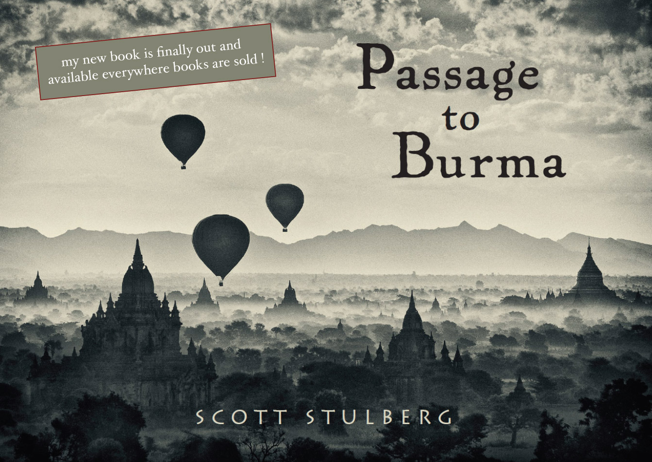 Passage to Burma,  my new book