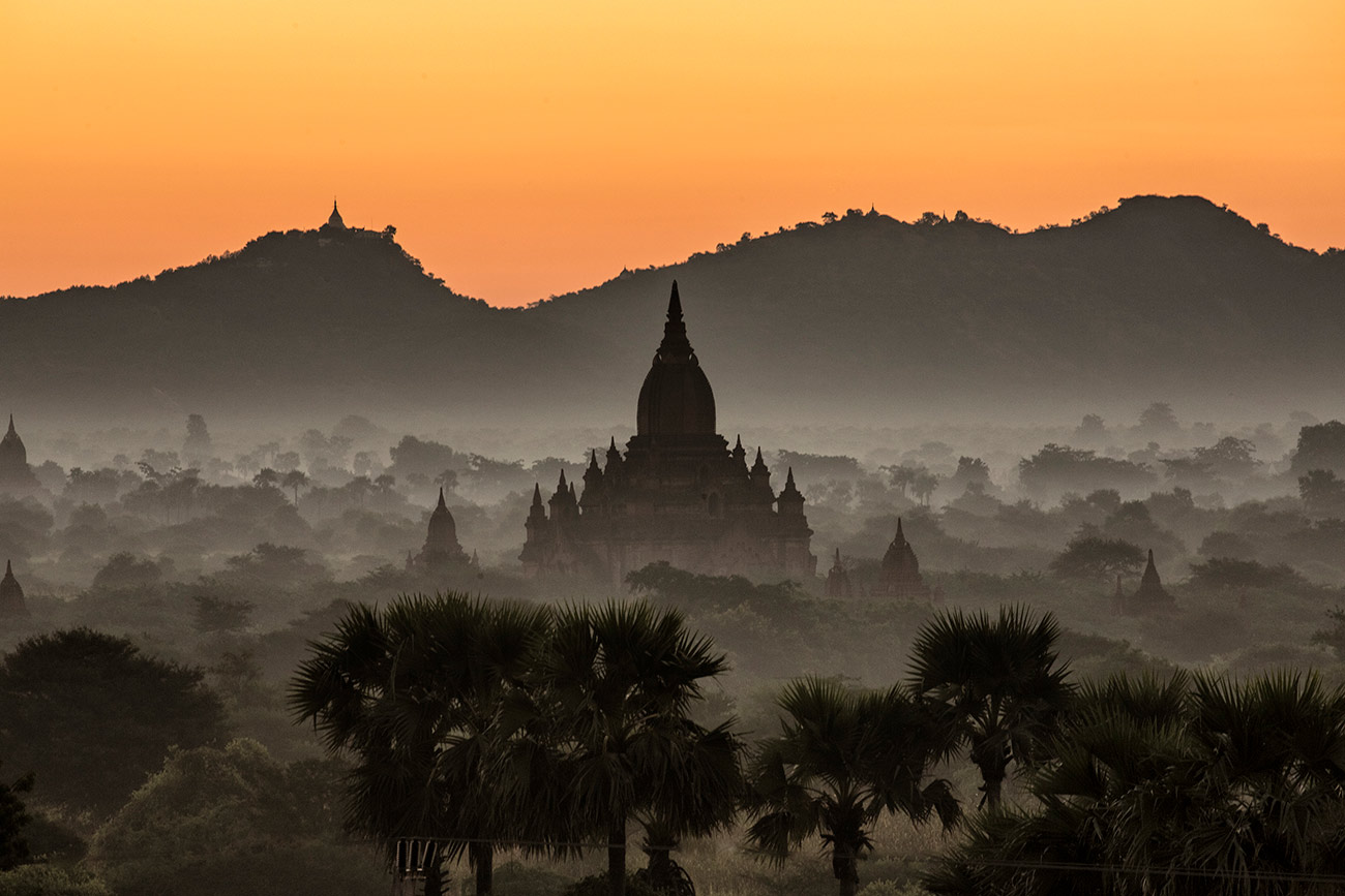 The temples of Bagan in Burma