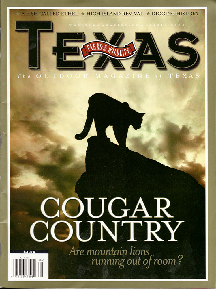 Cover of Texas Parks & Wildlife Outdoor Magazine