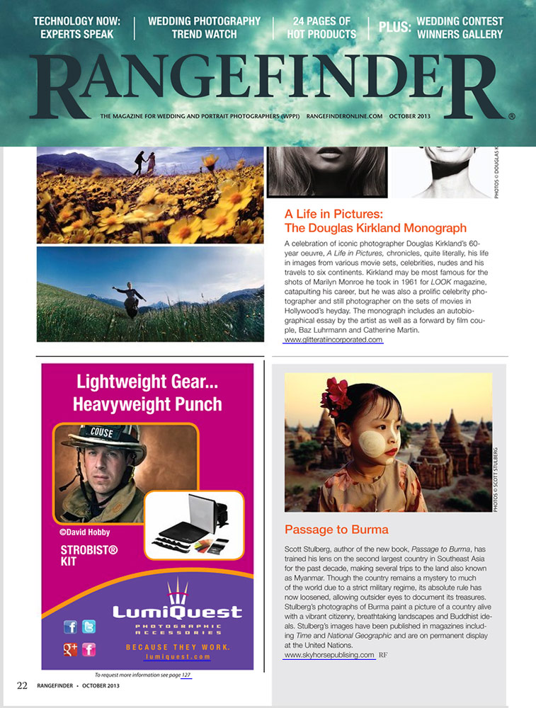 My book in Rangefinder Magazine