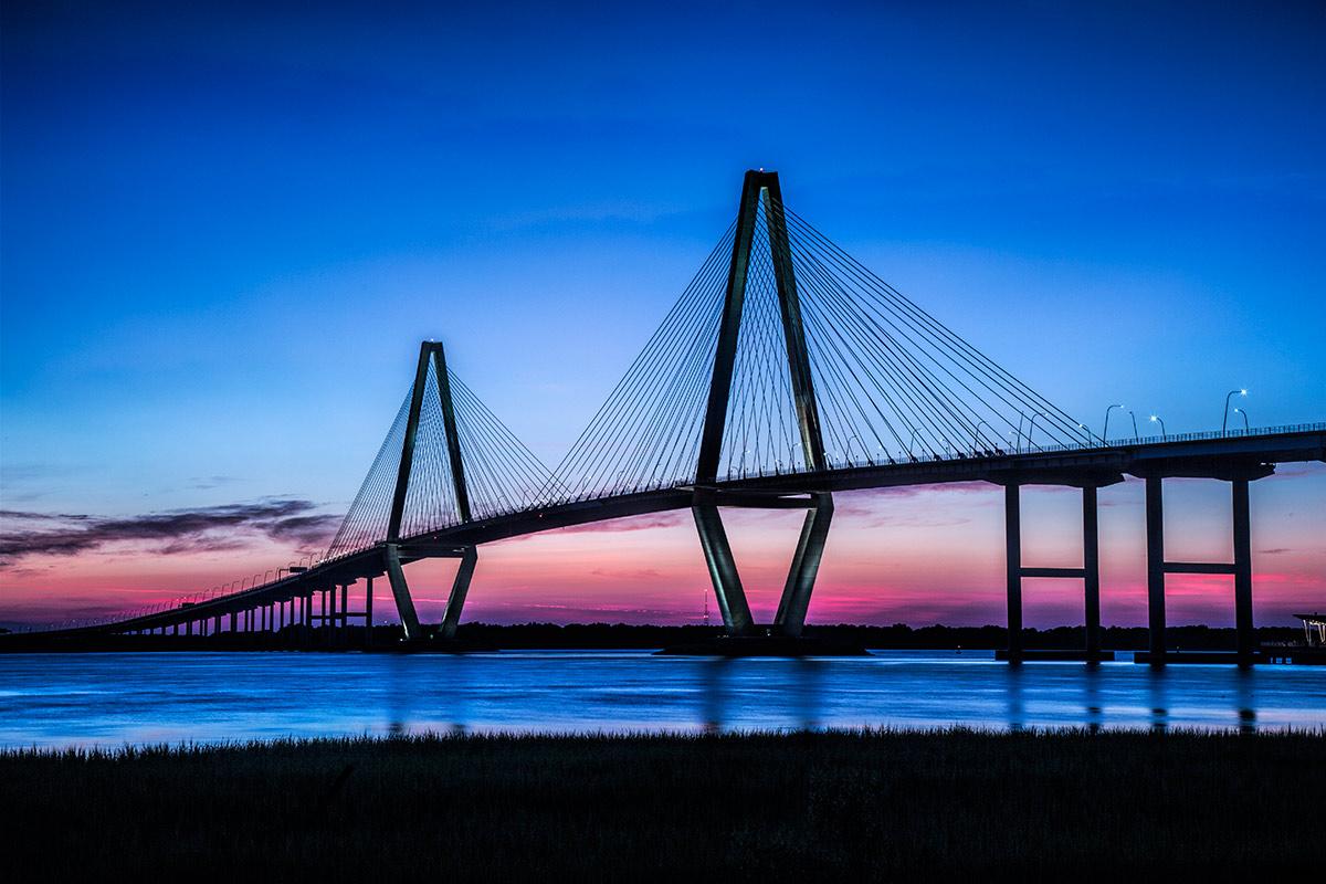 Arthur Ravenel Jr. Bridge in Charleston, SC.
