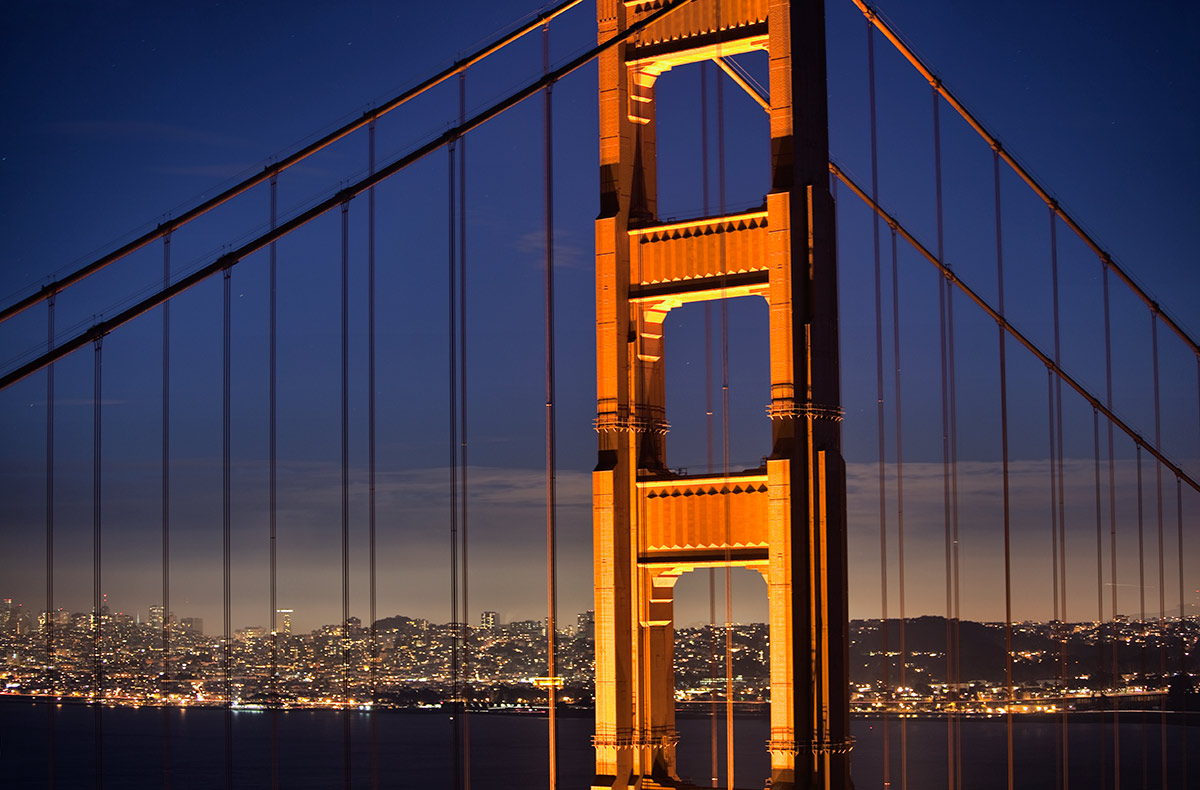The amazing Golden Gate Bridge