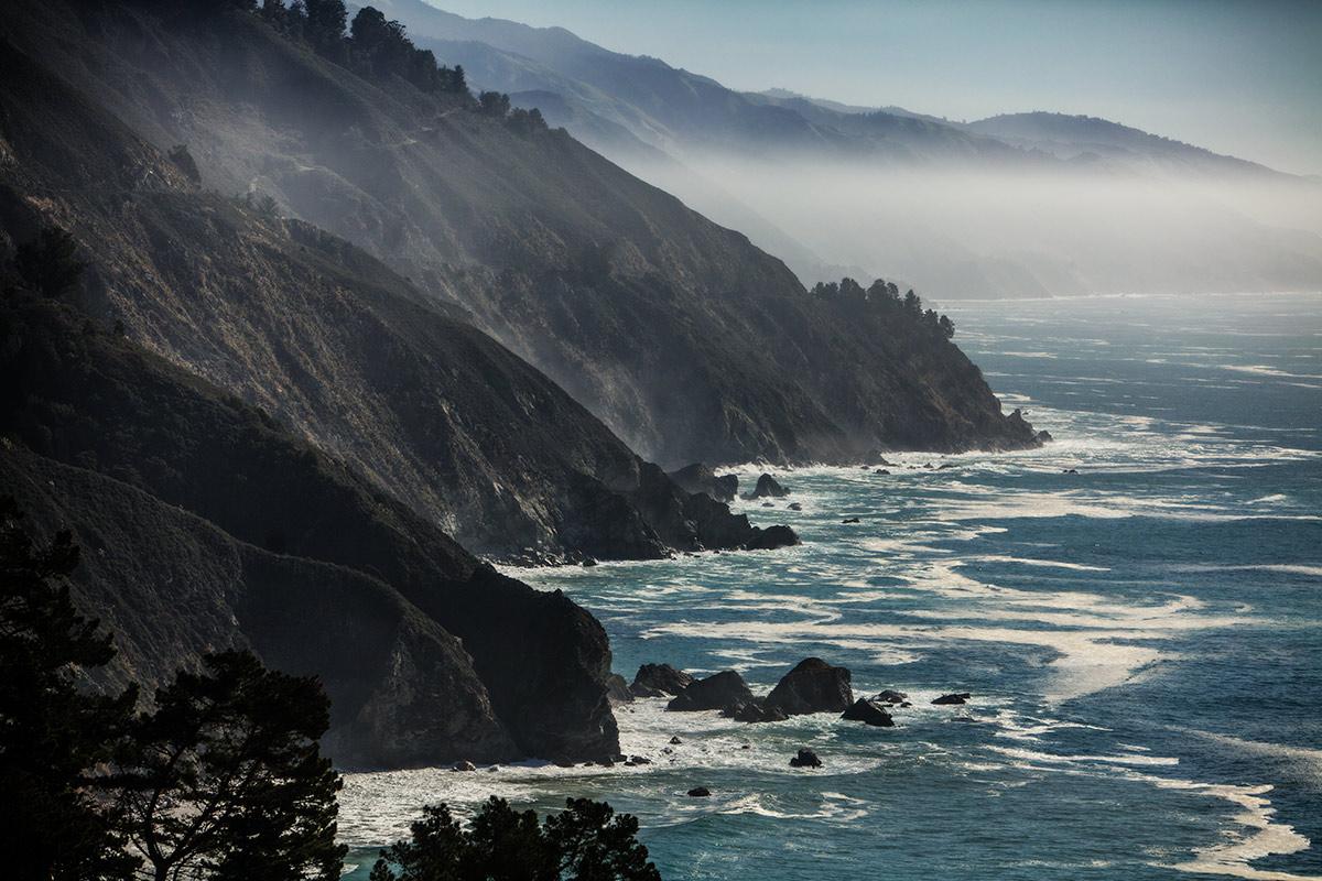 The coast of Big Sur