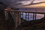 The gorgeous Bixby Bridge in Big Sur