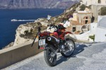 My motorcycle on Santorini