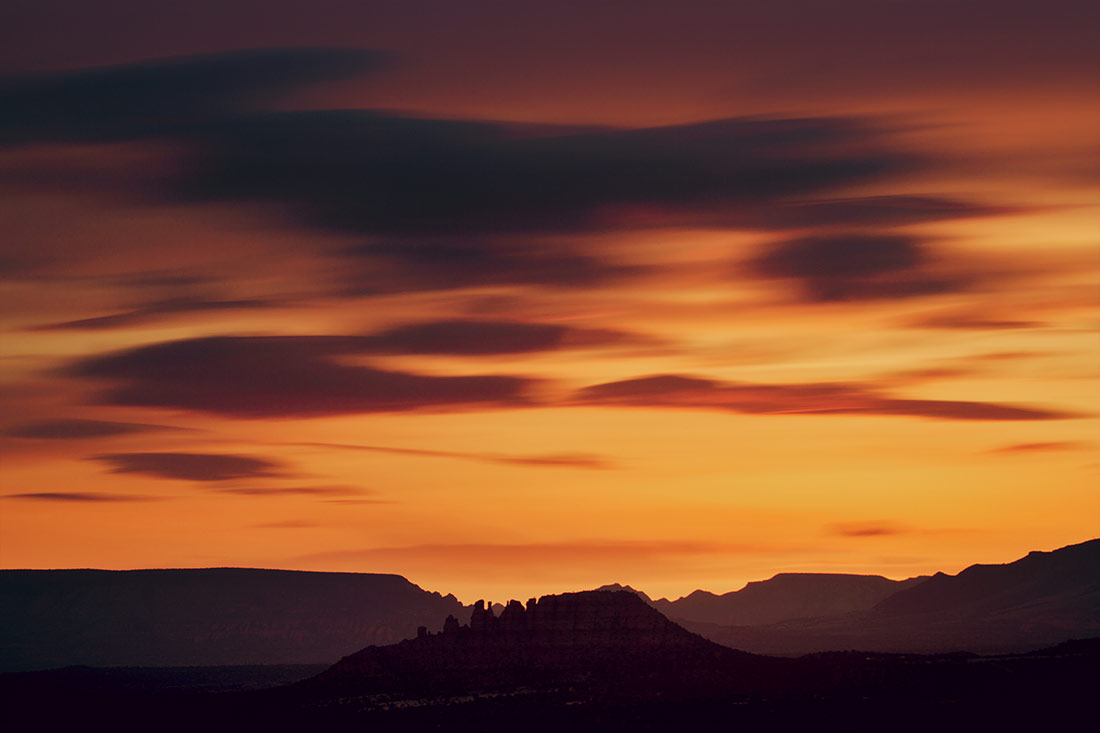 sedona at sunset