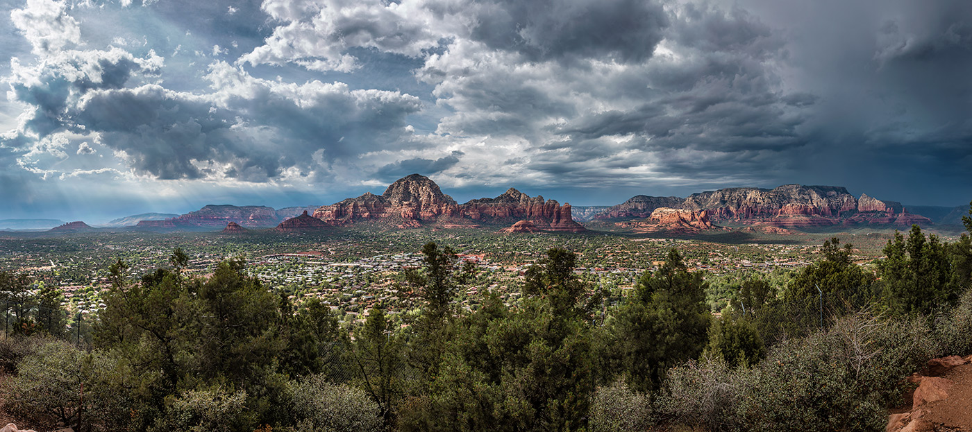 Sedona from the airport mesa viewpoint